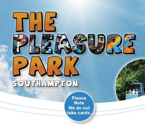 The pleasure park text heading